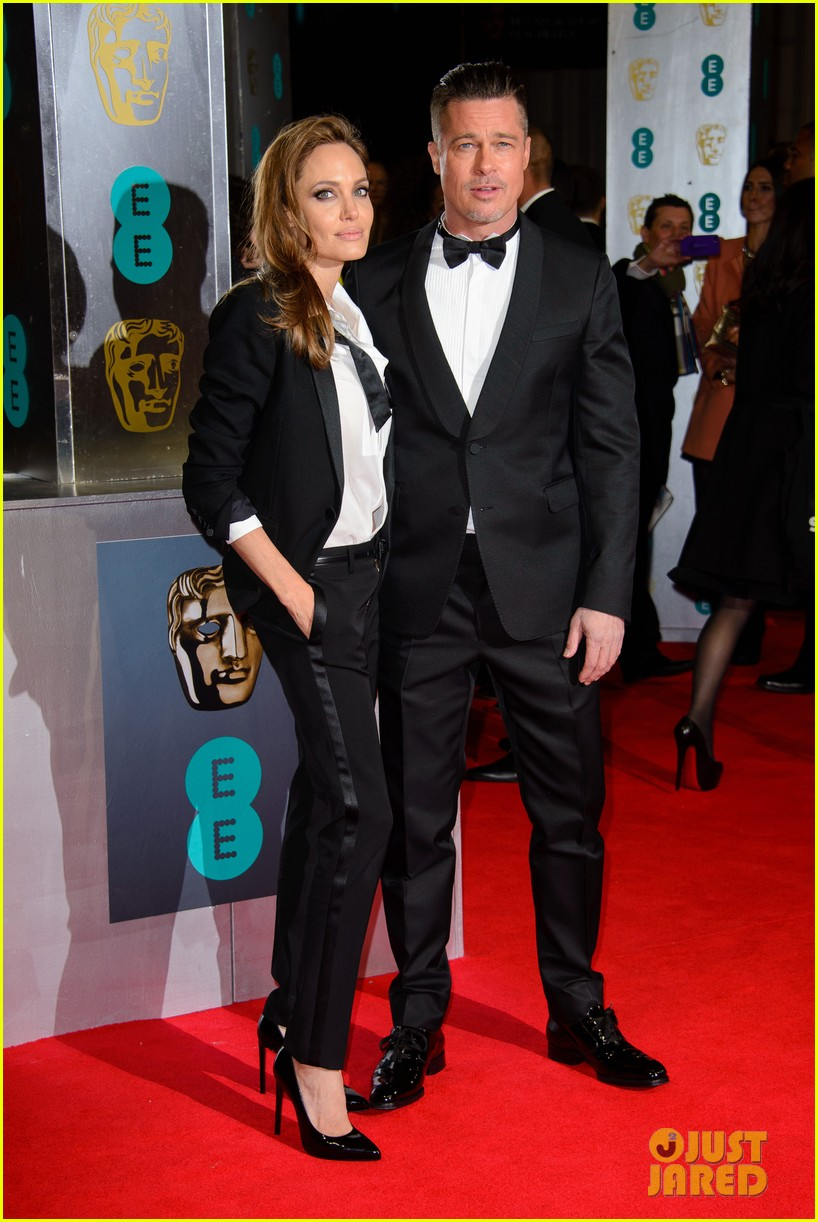 brad pitt wins best film at baftas 2014 watch video here 303054724