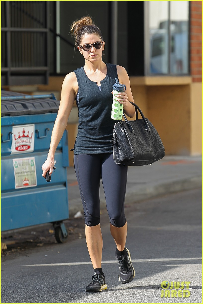 nikki reed keeps in shape with daily workout 123060905