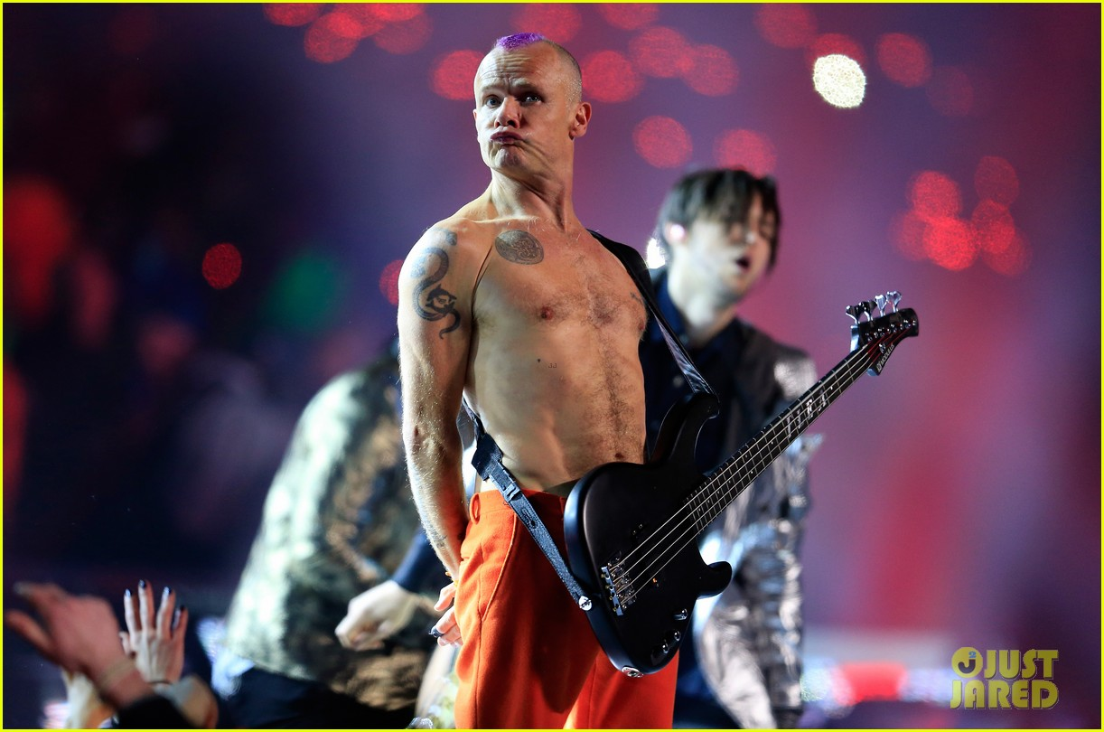 red hot chili peppers super bowl halftime show 2014 video 02