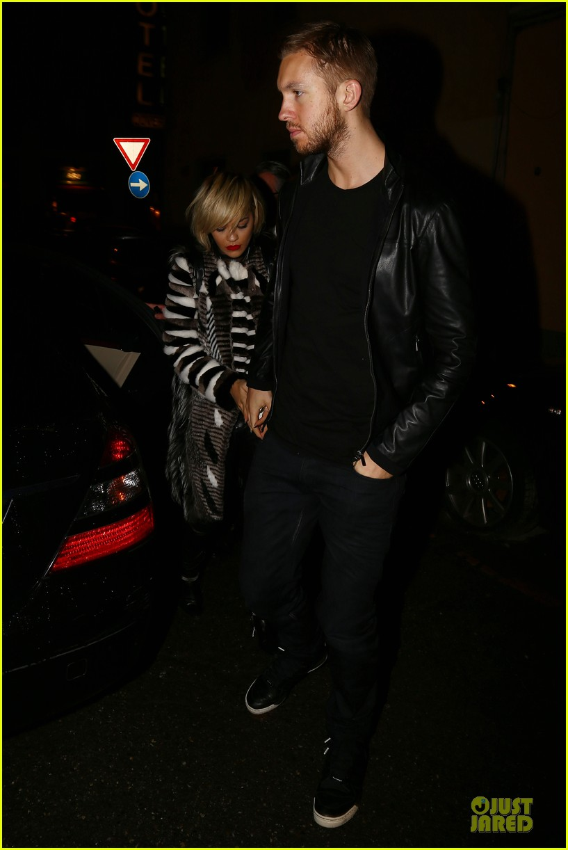 rita ora calvin harris italian dinner date at giacomo restaurant 063058531
