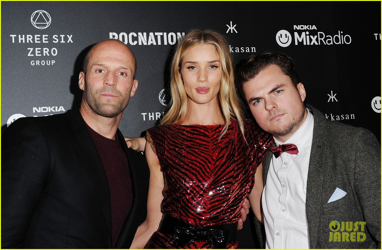 jason statham joins rosie huntington whiteley at brits party 073056855