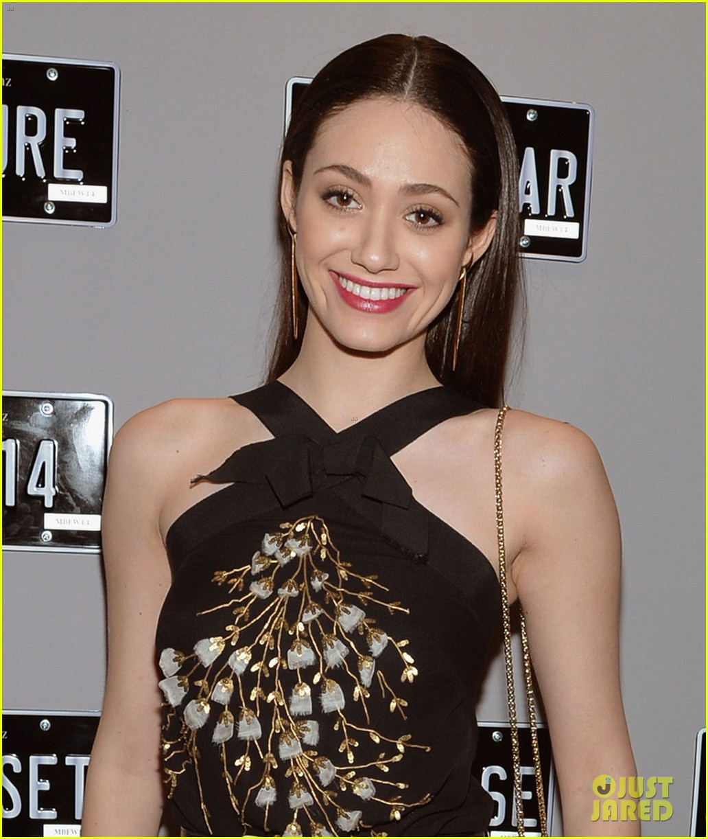 emmy rossum carolina herrera yigal azrouel nyfw shows 063050660