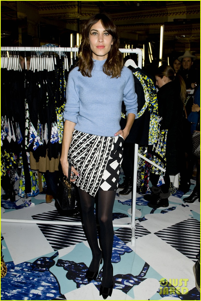 taylor schilling alexa chung peter pilotto for target event 10