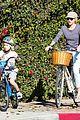 liev schreiber bares hot shirtless bod for family bike ride 23