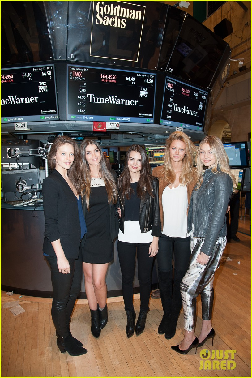 sports illustrated swimsuit models ring stock exchange bell 05