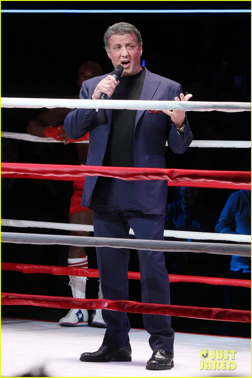 sylvester stallone helps launch rocky on broadway 10