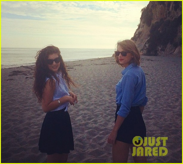 taylor swift lorde hang out spend weekend together 04