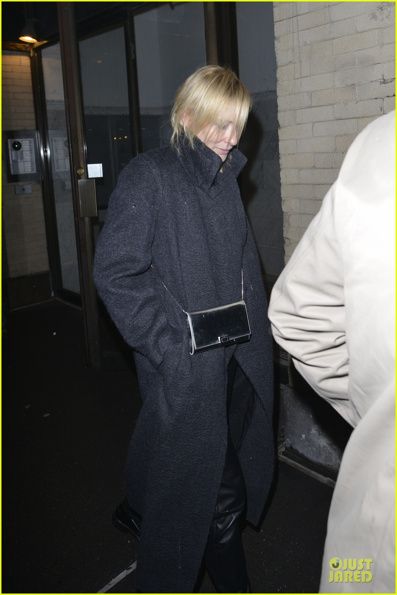 justin theroux cate blanchett visit mimi odonnell after philip seymour hoffman death 04
