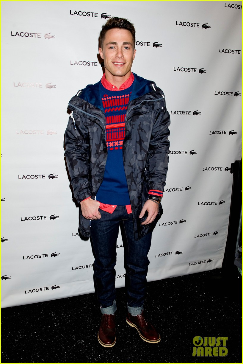 bella thorne colton haynes lacoste fashion show 04