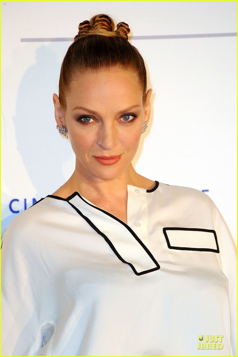 uma thurman difference maker at cinema for peace gala 10
