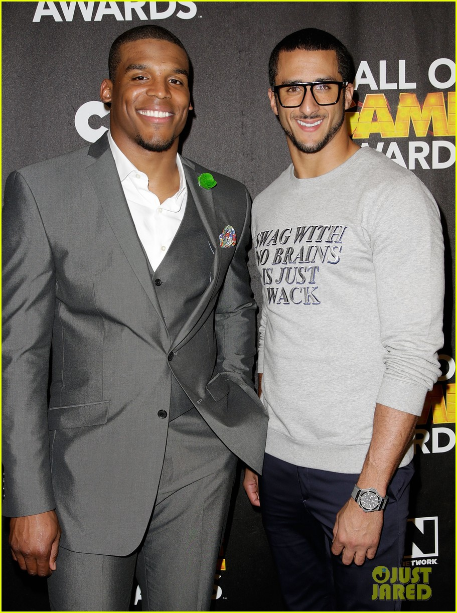 lindsey vonn colin kaepernick hall of game awards 2014 143054220