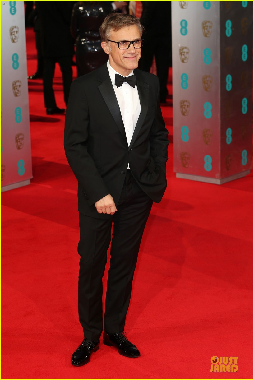 christoph waltz daniel bruhl baftas 2014 red carpet 01