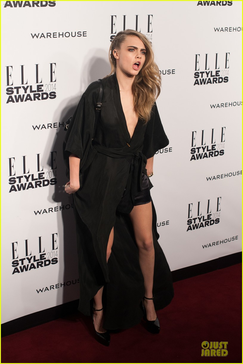 suki waterhouse cara delevingne stunning models at elle style awards 10