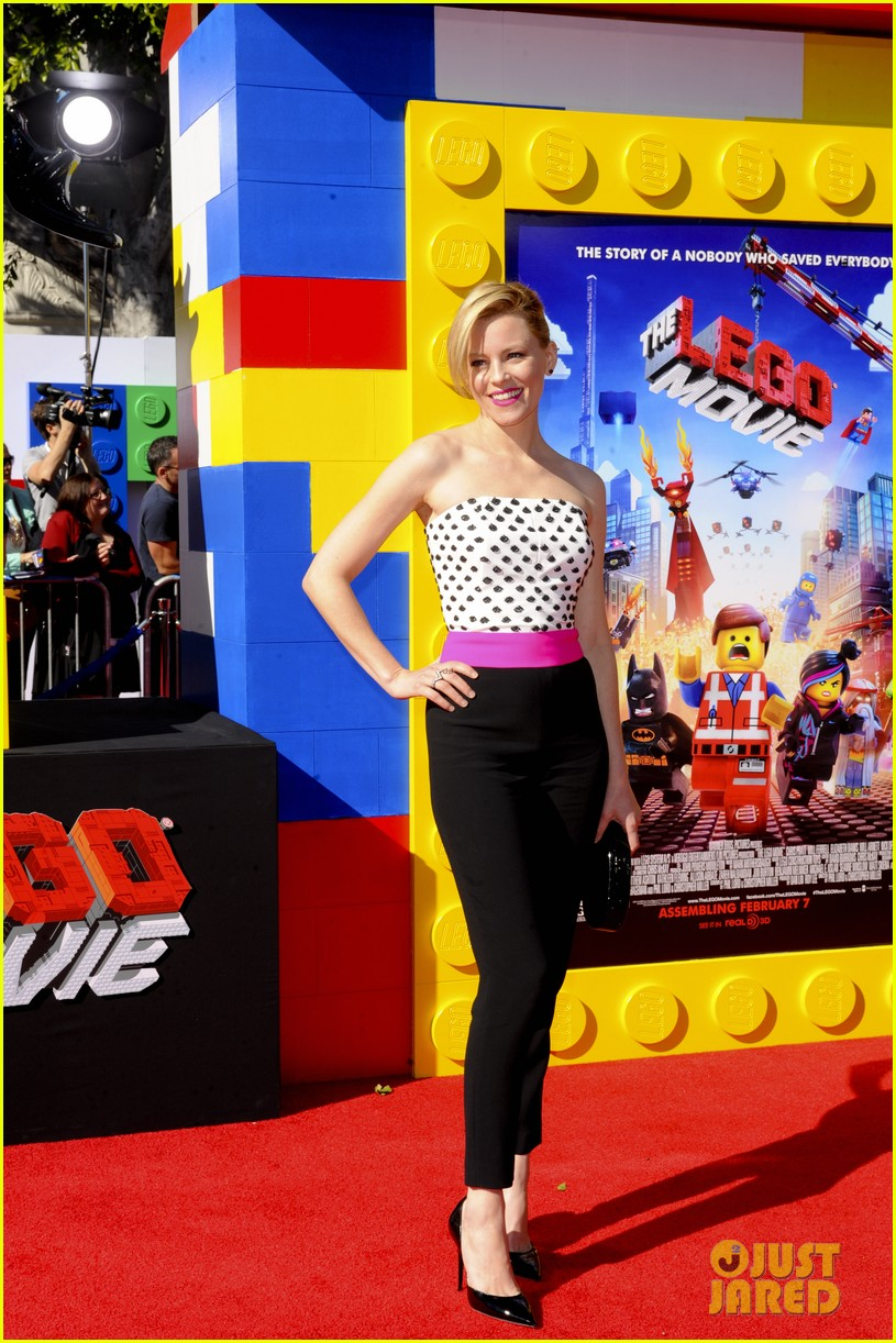 elizabeth banks will ferrell the lego movie premiere 193045744