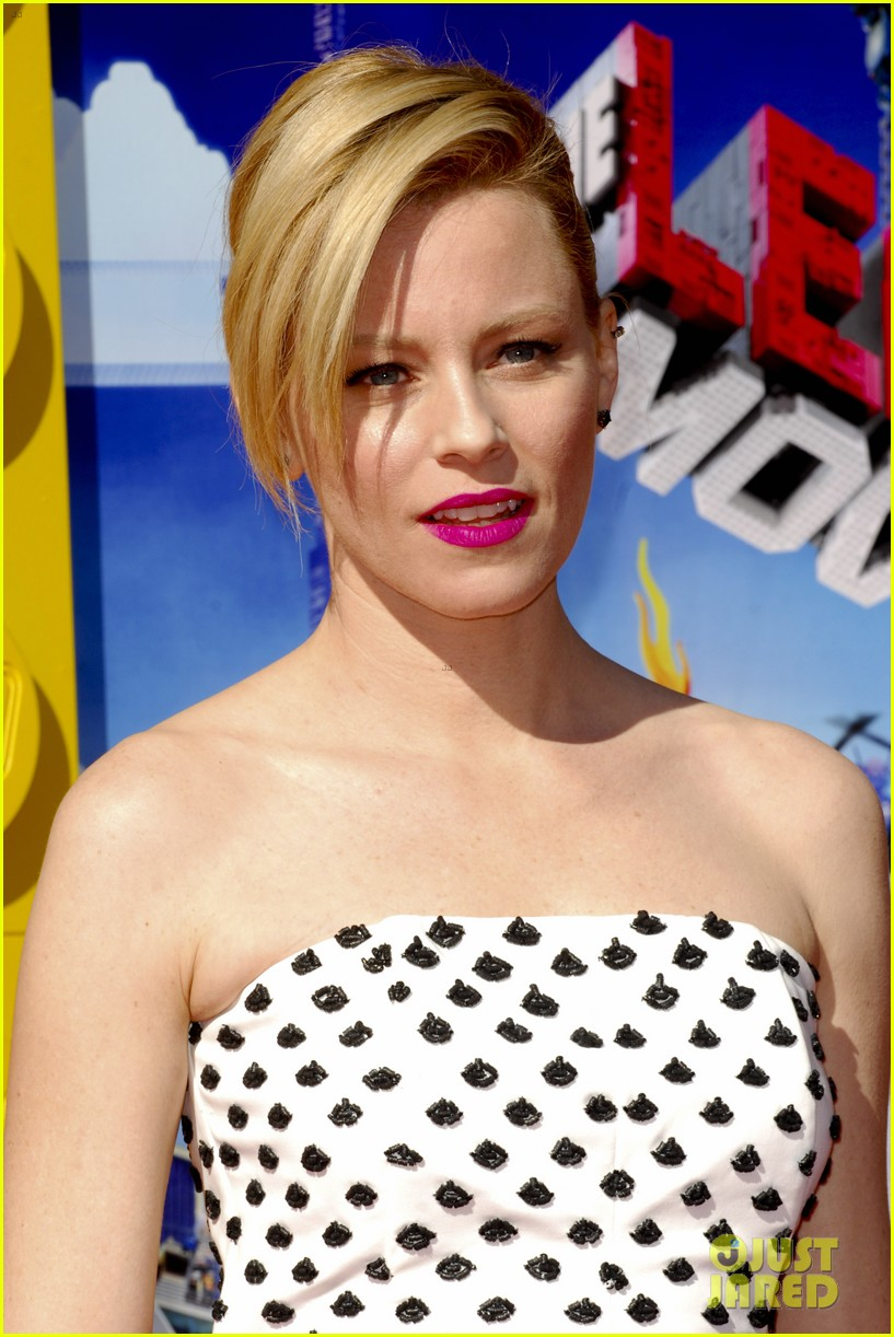 elizabeth banks will ferrell the lego movie premiere 203045745