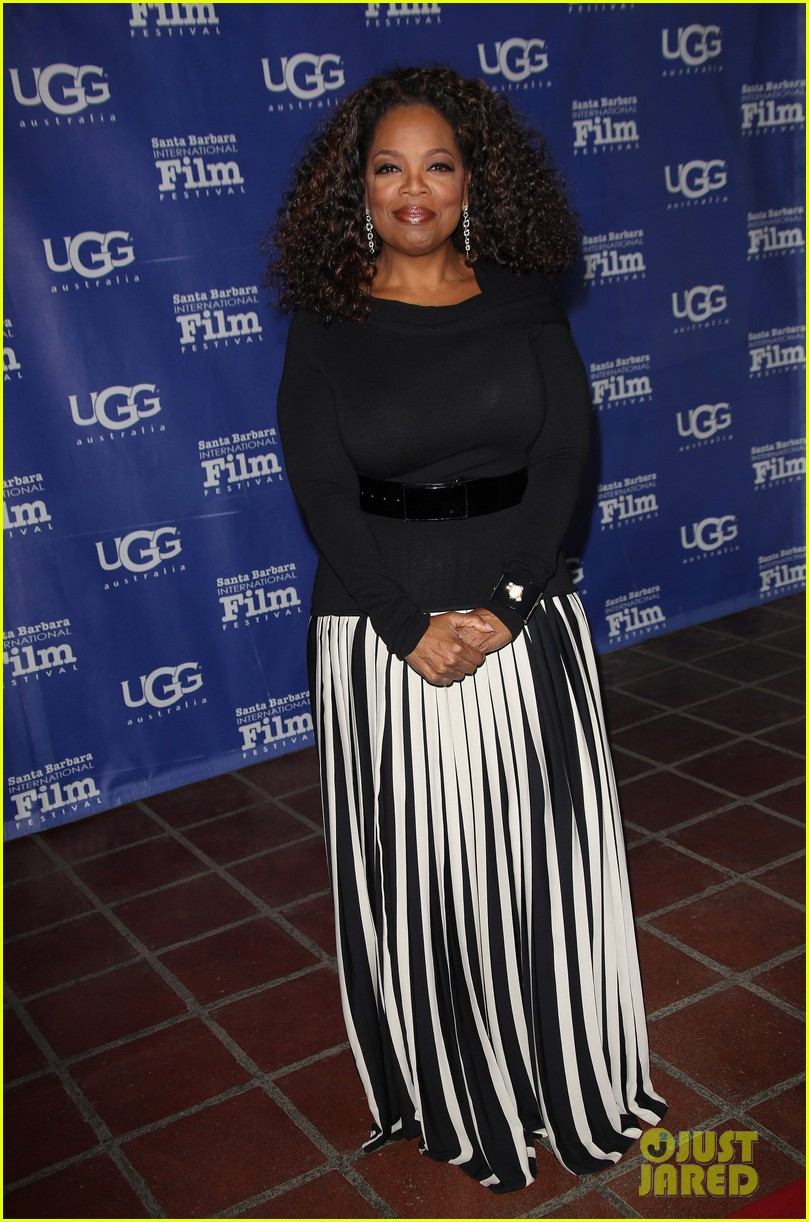 oprah winfrey receives montecito award at sbiff 2014 11