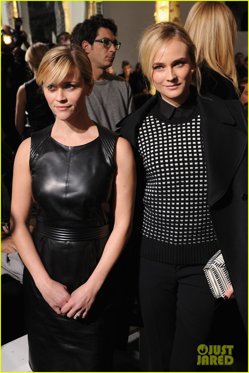 reese witherspoon diane kruger sit front row at boss show 103052318