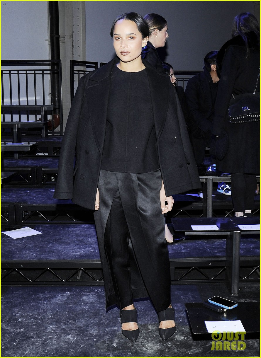 zoe kravitz alexander wang fashion show karlie kloss anne v 103050212
