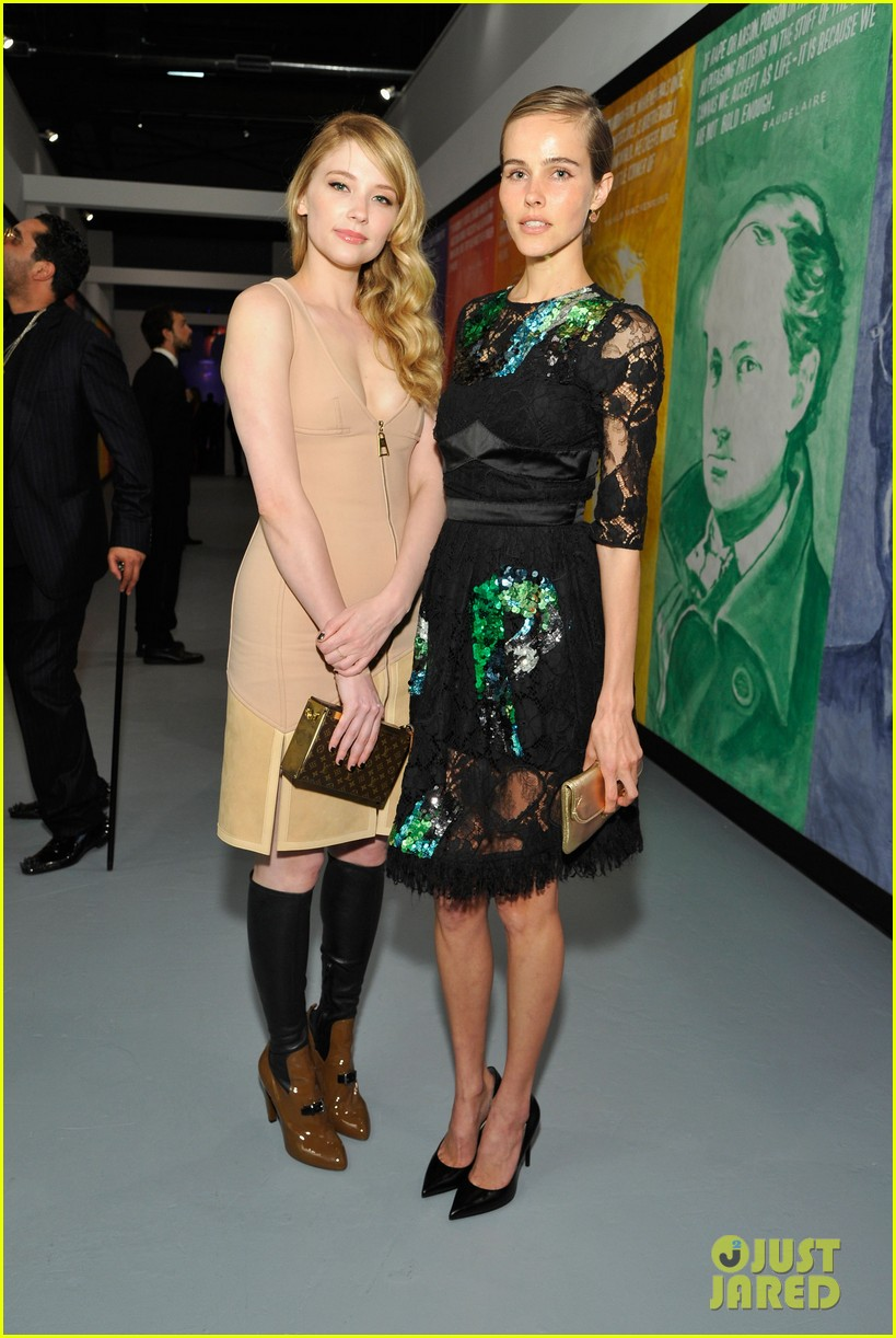 dianna agron isabel lucas moca anniversary gala 03