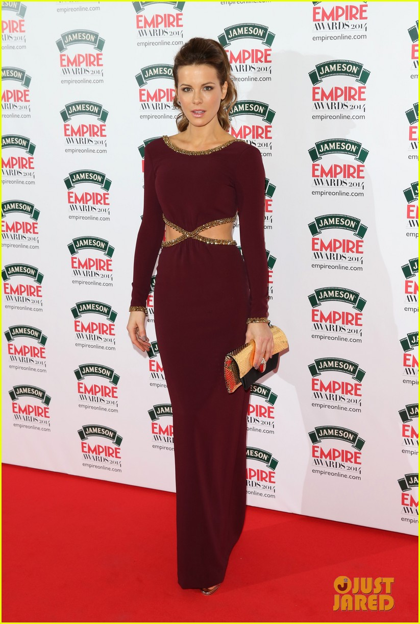 kate beckinsales cutout dress jameson empire awards 2014 09