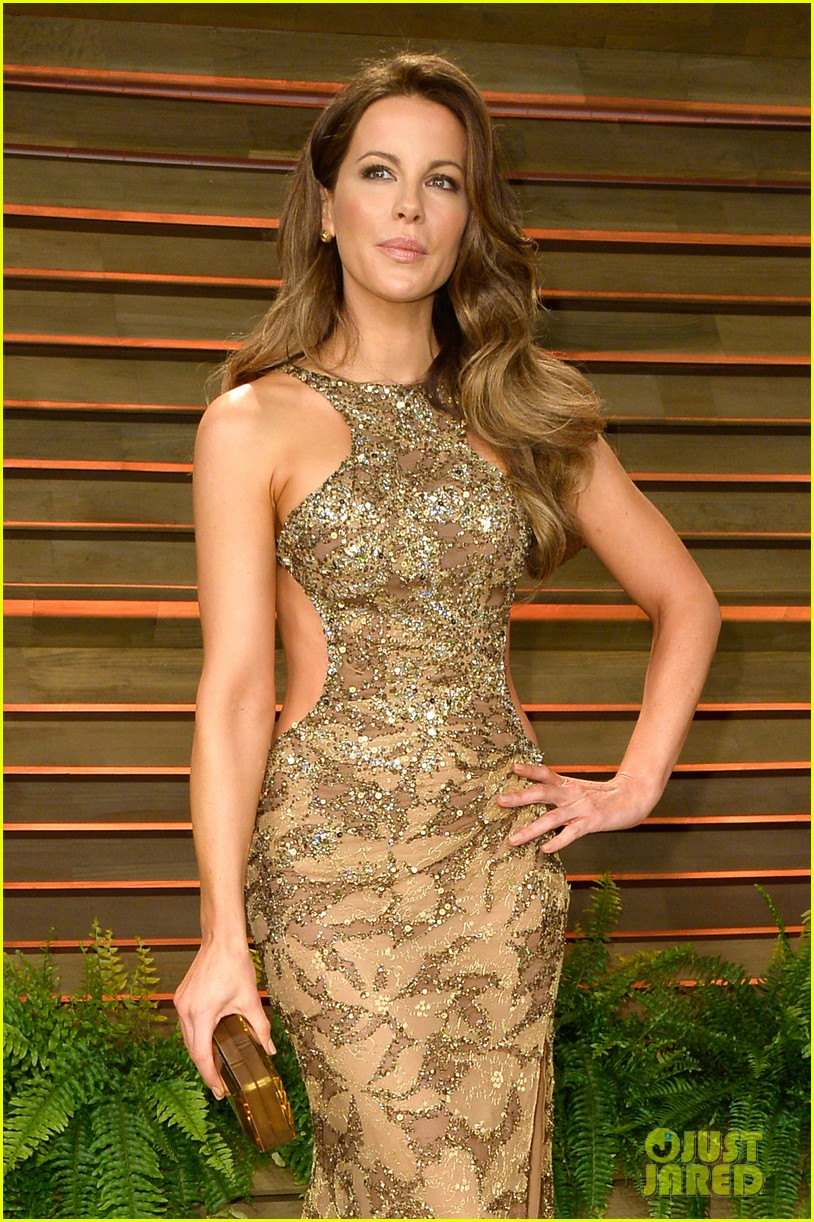 kate beckinsale len wiseman vanity fair oscars party 2014 04