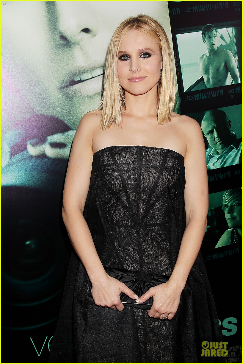 kristen bell chris lowell glam up the veronica mars nyc screening 14