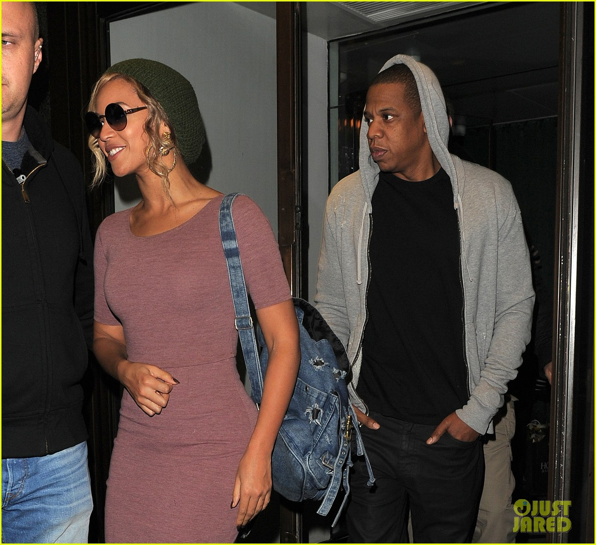 beyonce jay z date night in london before ireland shows 02