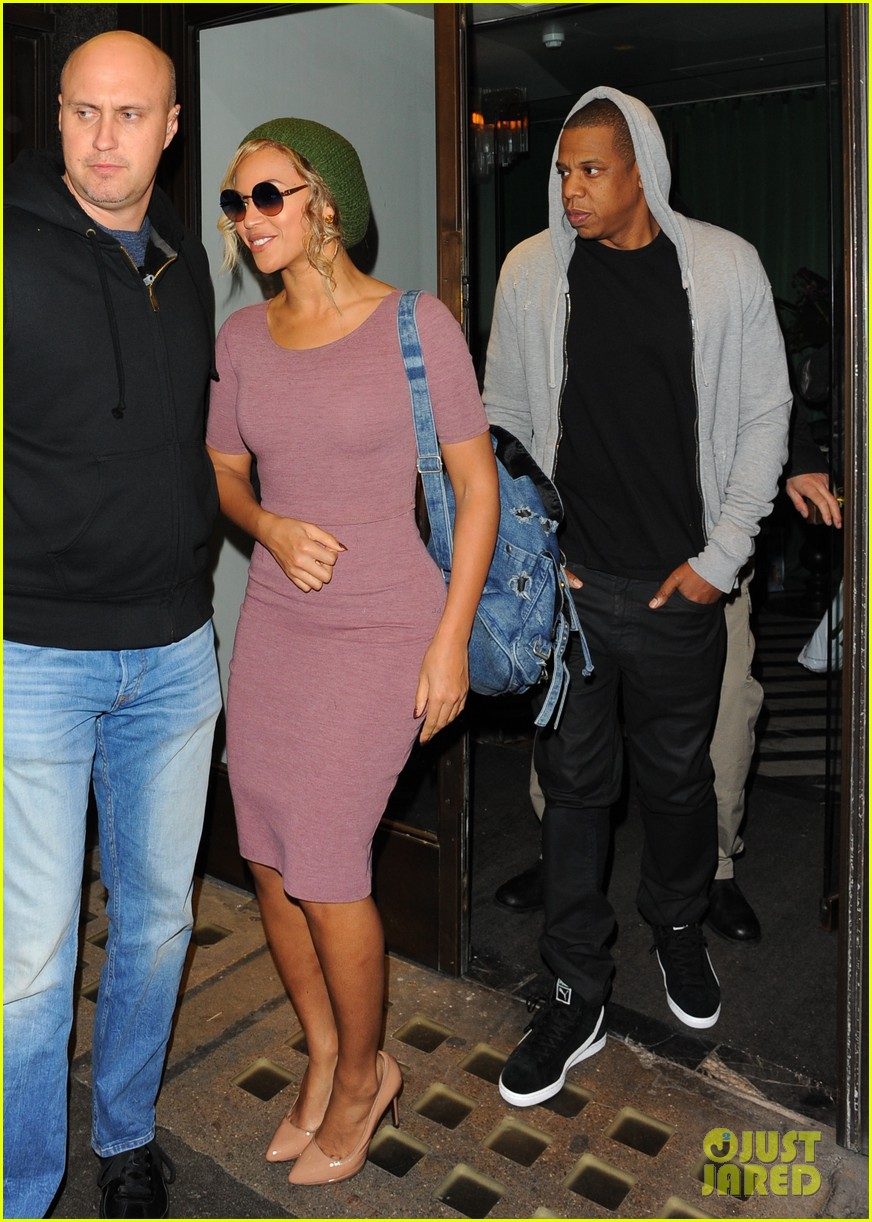 beyonce jay z date night in london before ireland shows 19