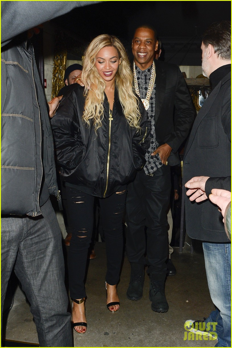 beyonce jay z party at mason house after london concert 18
