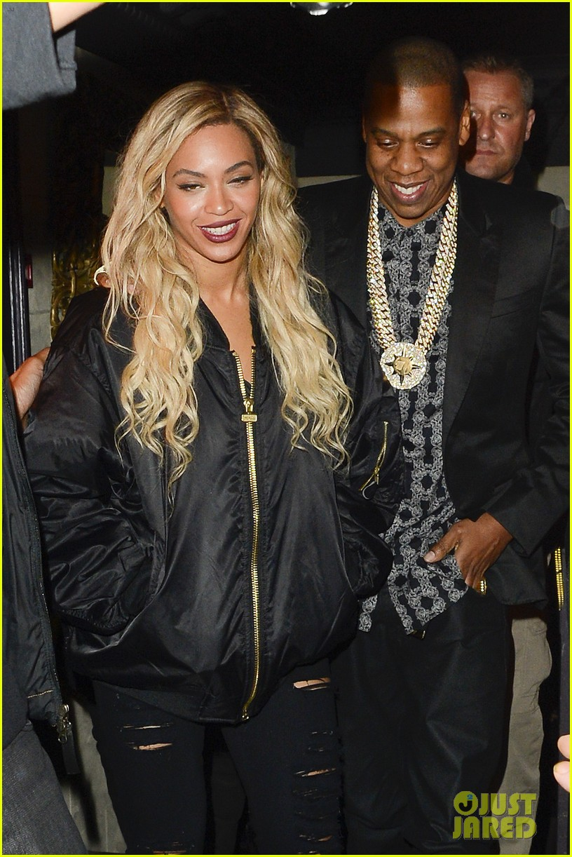 beyonce jay z party at mason house after london concert 19
