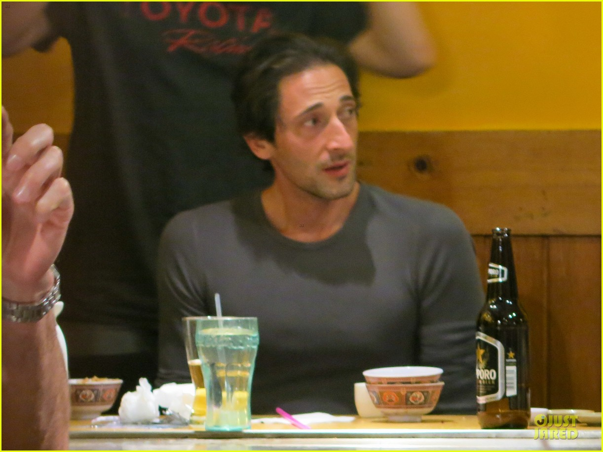 adrien brody gets to race in toyota grand prix 103072477