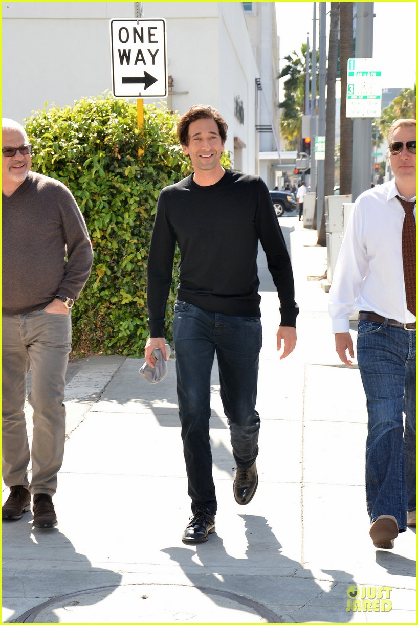 adrien brody gets to race in toyota grand prix 143072481