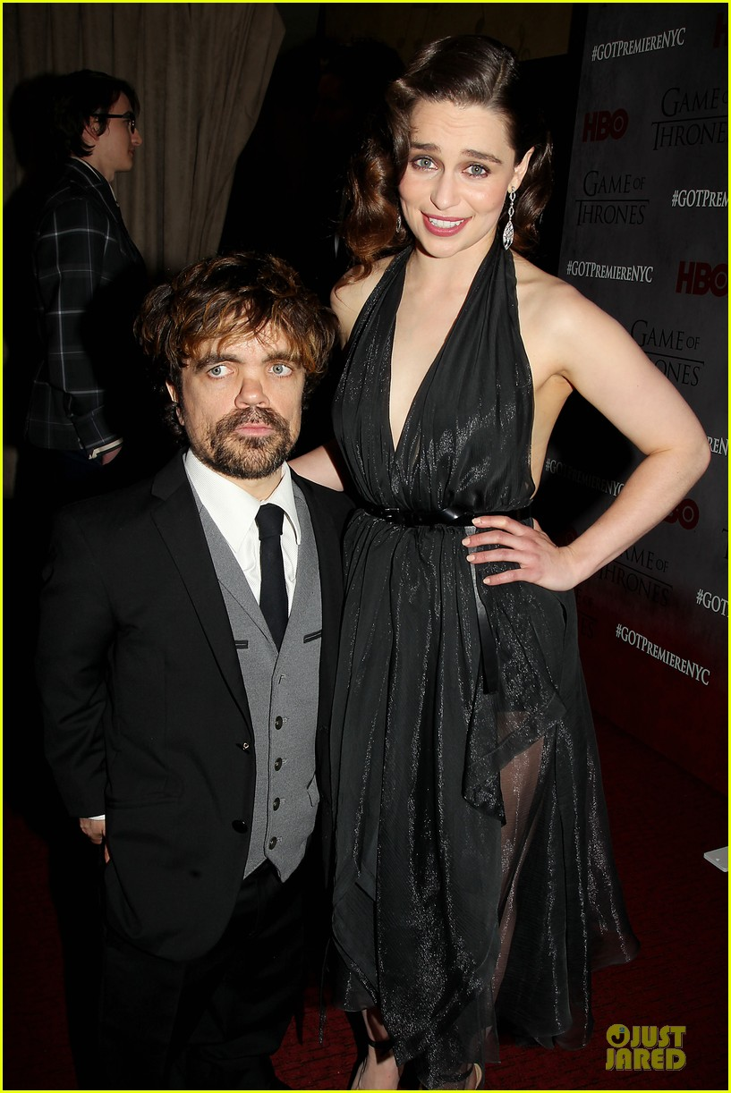 emilia clarke peter dinklage game of thrones season 4 premiere 16