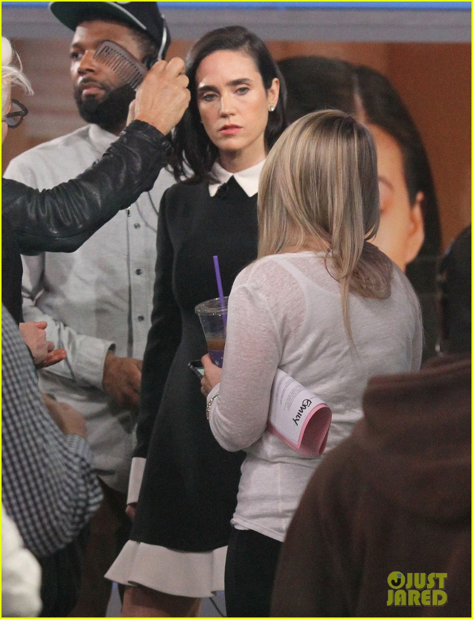 jennifer connelly promotes noah on gma 06
