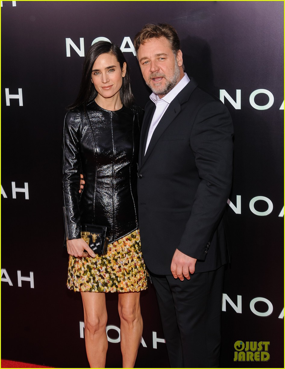 jennifer connelly russell crowe noah nyc premiere 10
