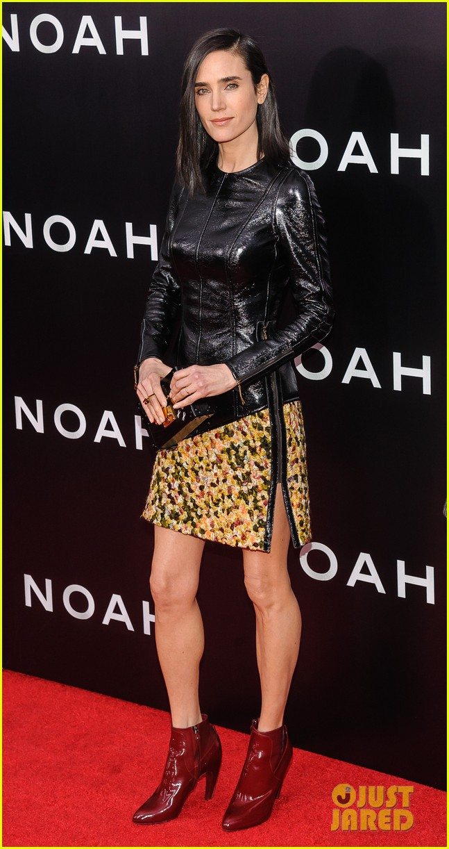 jennifer connelly russell crowe noah nyc premiere 13