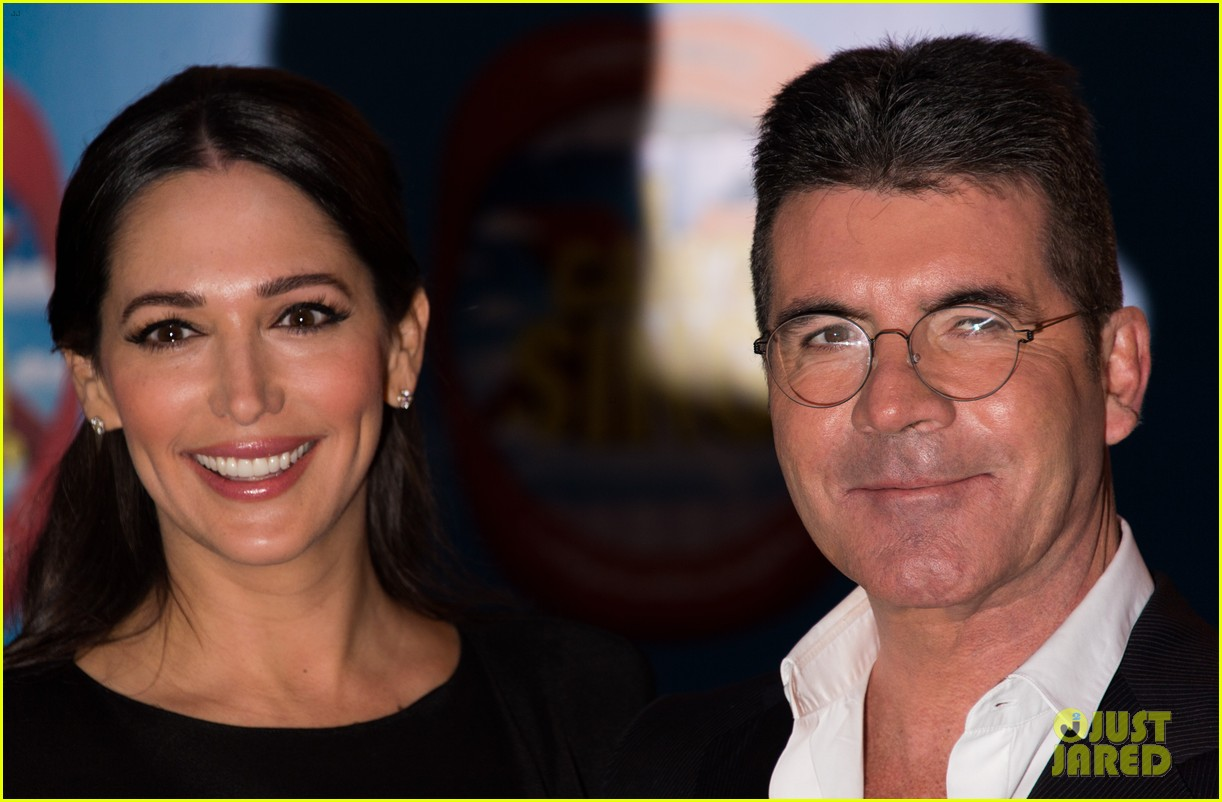 simon cowell lauren silverman first red carpet 013079167