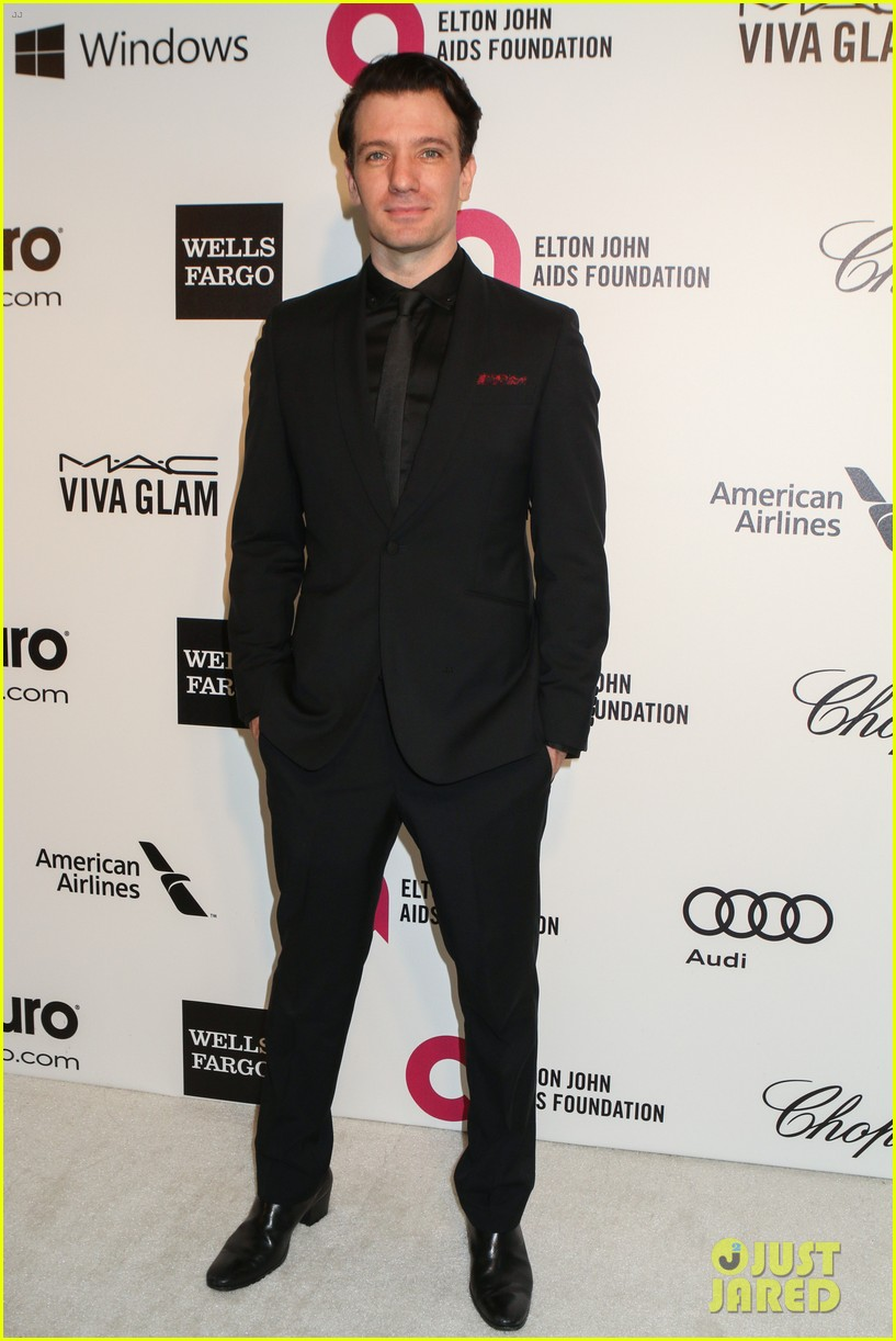 chace crawford ed sheeran elton john oscars party 2014 11