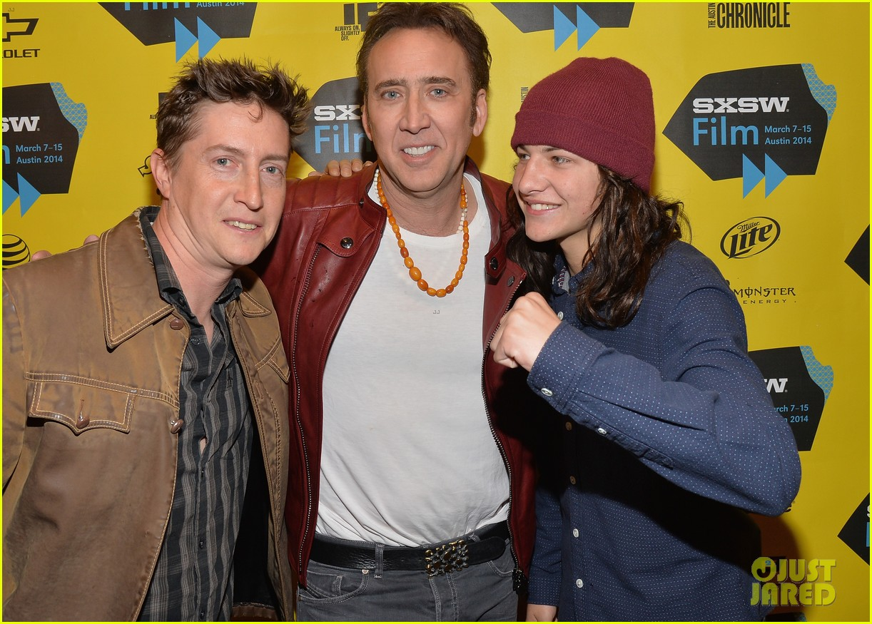 rosario dawson nicolas cage support joe at sxsw 2014 13