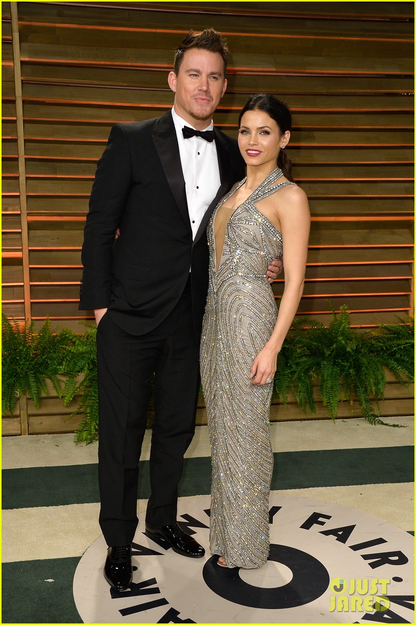 jenna dewan channing tatum vanity fair oscars party 2014 053064724