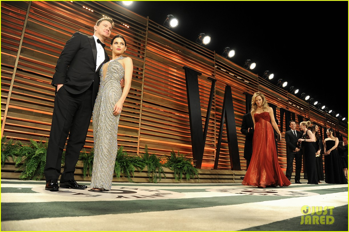 jenna dewan channing tatum vanity fair oscars party 2014 073064726