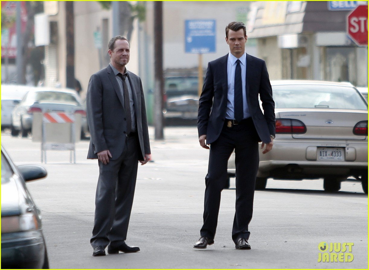 josh duhamel jumps into action on battle creek set 05