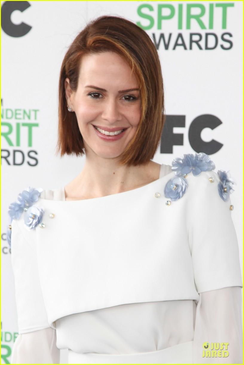 michael fassbender sarah paulson independent spirit awards 2014 113062994
