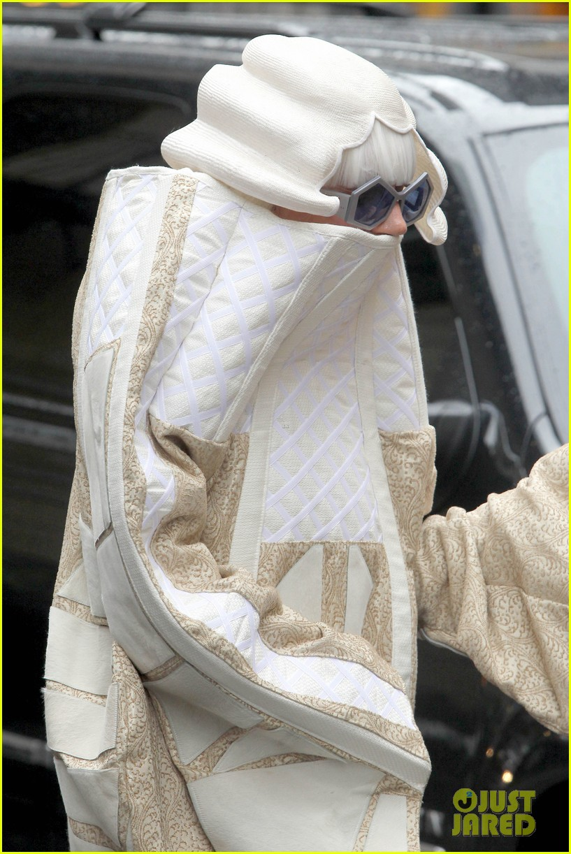 lady gaga wears two very interesting outfits on her birthday 19