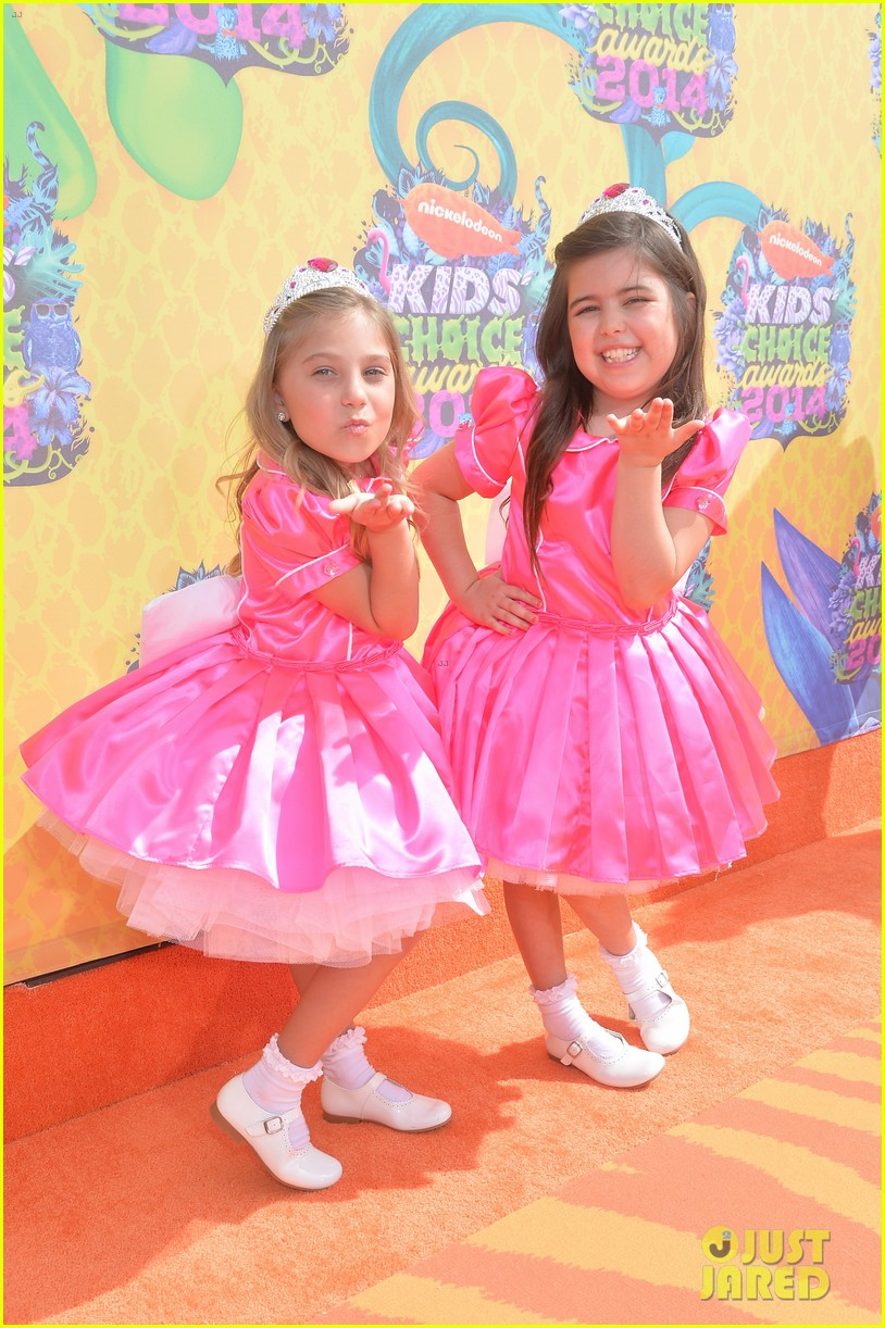 sophia grace rosie kids choice awards 2014 02