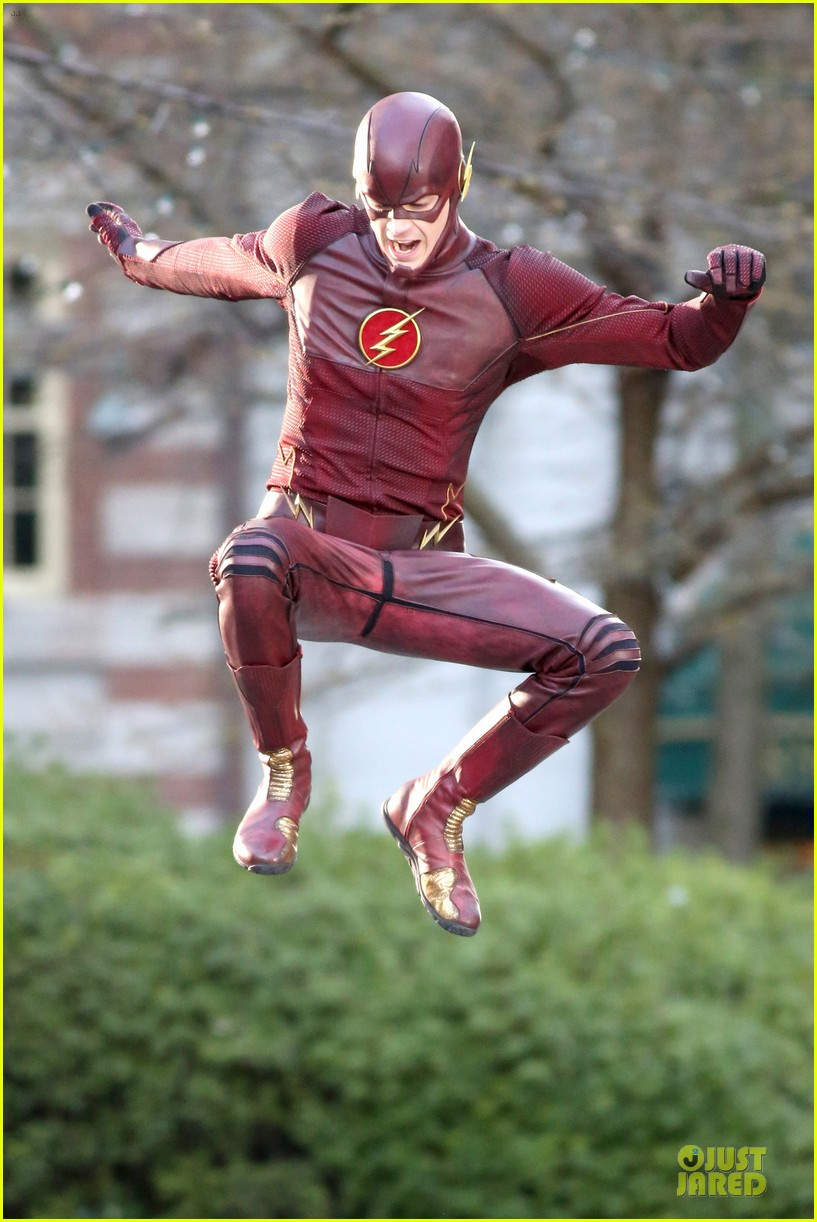 grant gustin is proud stoked to wear flash costume 033070232