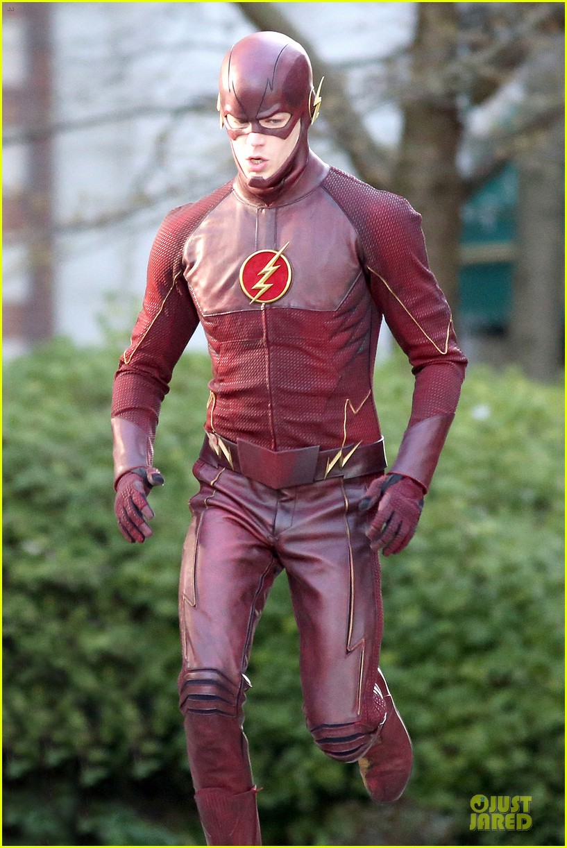 grant gustin is proud stoked to wear flash costume 073070236