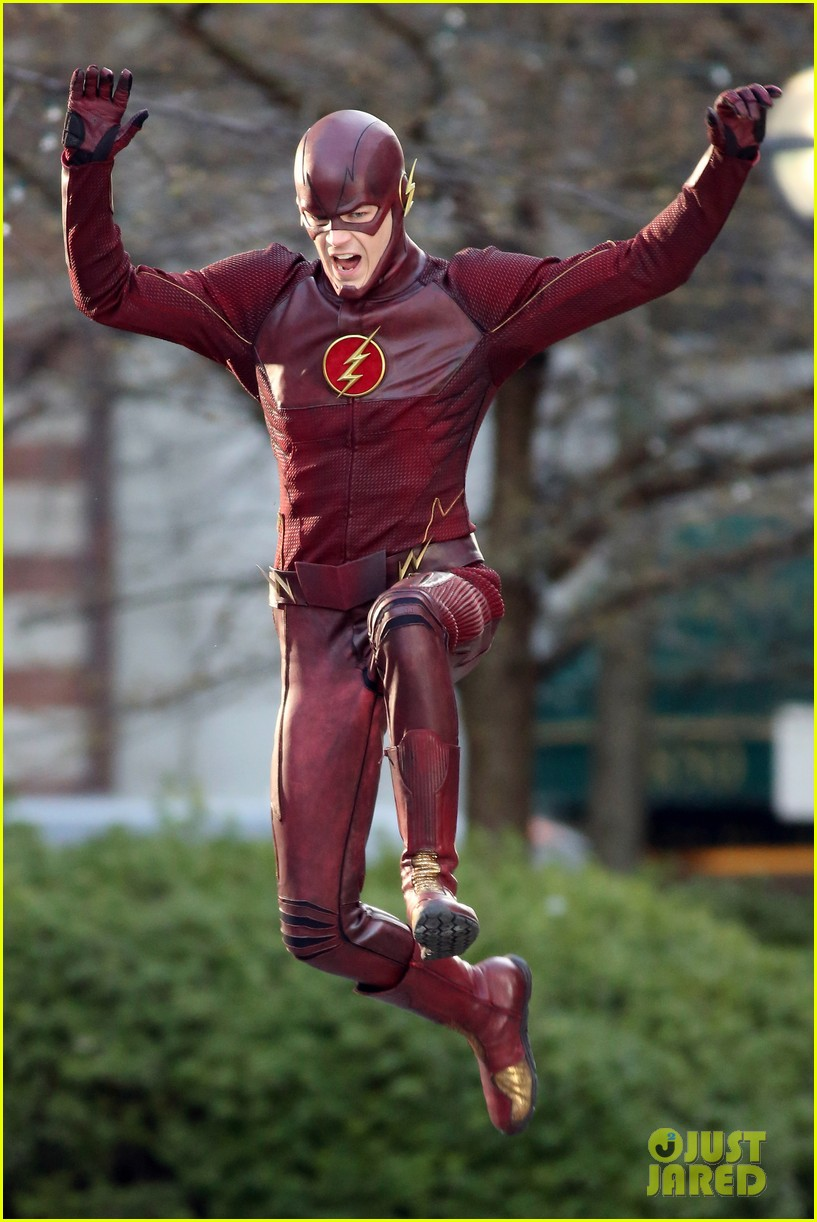 grant gustin flashes into action 033071209