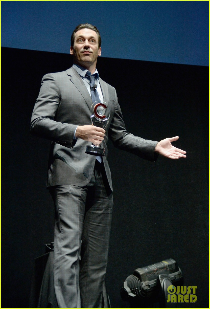 jon hamm excellence in acting award cinemacon 123079102