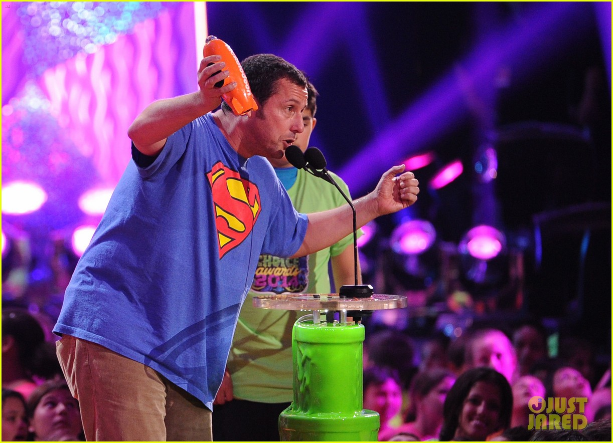 kevin hart adam sandler kids choice awards 2014 21